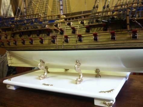 Модель корабля, фотография 2