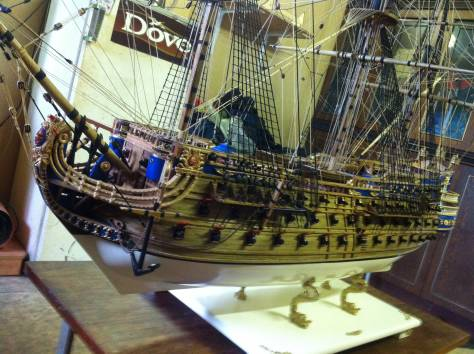 Модель корабля, фотография 3