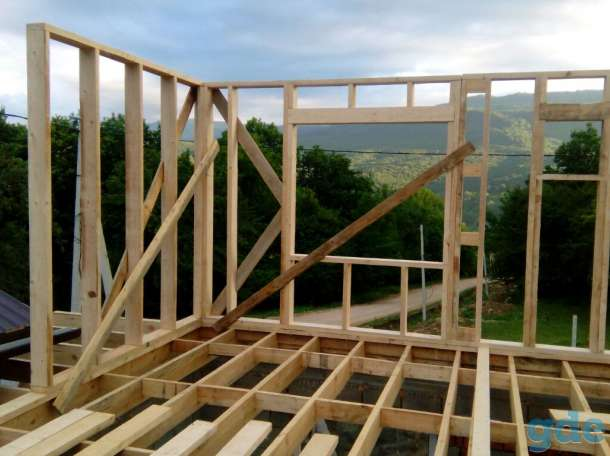 Строительство каркасных домов, фотография 1