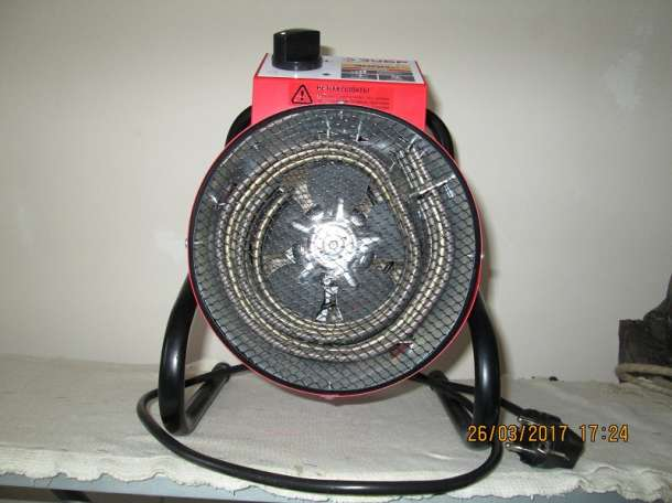 Обогреватель электрический (тепловая пушка) 3кВт, фотография 4