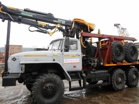 Лесовоз Урал 55571, без пробега 2017 г.в. с новым манипулятором Омтл-97, лизинг, фотография 1