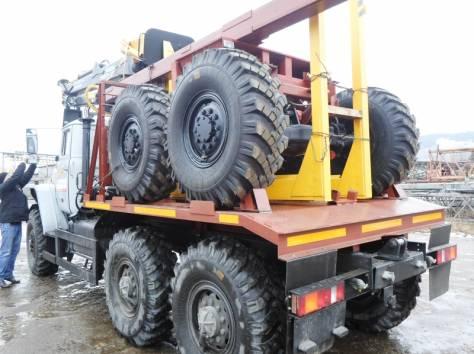 Лесовоз Урал 55571, без пробега 2017 г.в. с новым манипулятором Омтл-97, лизинг, фотография 4