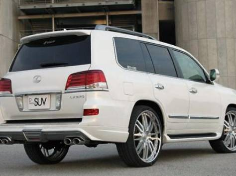 Обвес Double Eight для Lexus LX 570, фотография 6