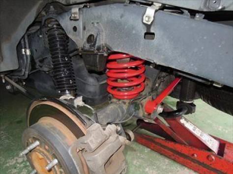 Комплект подвески Battlez SUS type Ti + 40мм на Prado 150, фотография 3