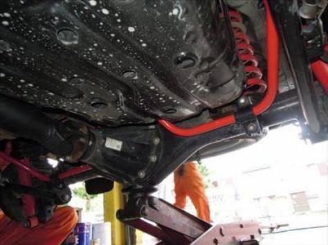 Комплект подвески Battlez SUS type Ti + 40мм на Prado 150, фотография 4