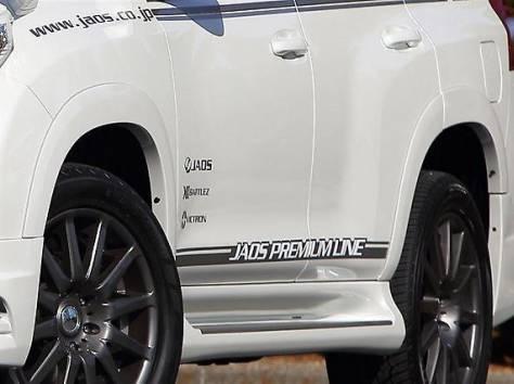 Расширители колесных арок JAOS +9mm на Prado 150 (Original), фотография 2