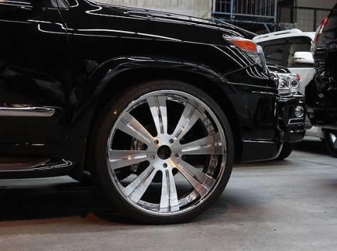 Расширители колесных арок WALD +30mm на Lexus LX 570 (Original JAPAN), фотография 3