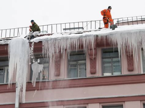 услуги по уборке снега с крыш, очистке кровли от снега, наледи и сосулек., фотография 6