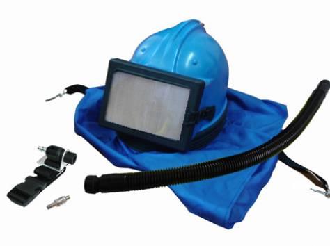 Шлем абразивоструйщика D-BLAST, фотография 1
