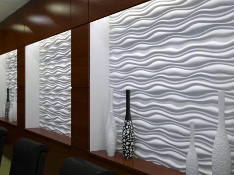 Декоративные 3D панели, фотография 2
