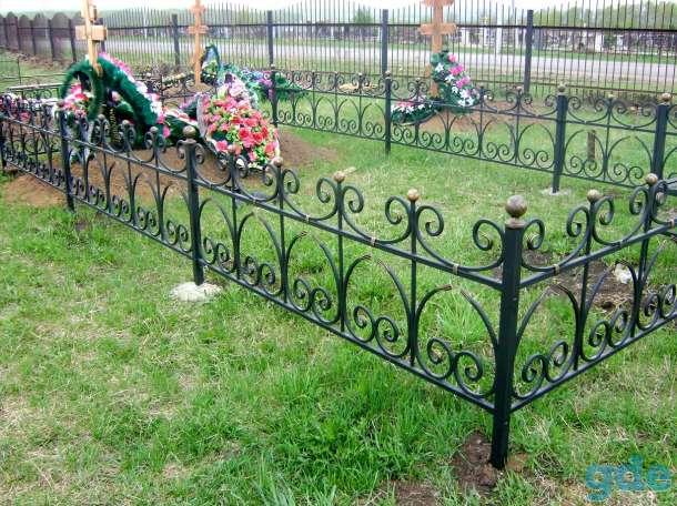 Оградки и кресты, фотография 1