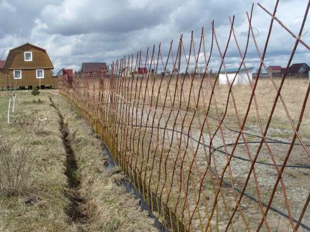 Оградки для клумб и грядок,плетень, фотография 10
