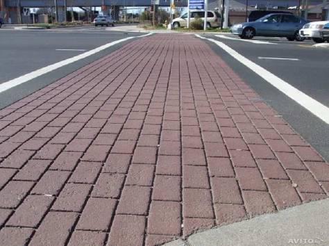 Укладка брусчатки и тротуарной плитки, фотография 4