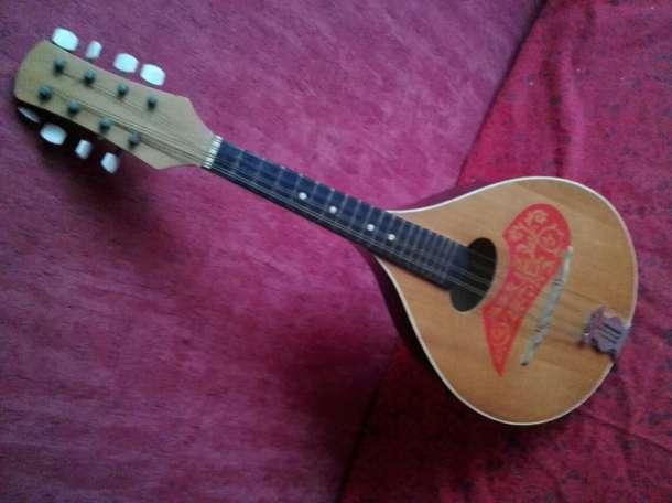 мандолина советская деревянная, фотография 1