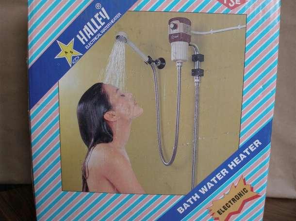 Продам электрический проточный водонагреватель, фотография 1