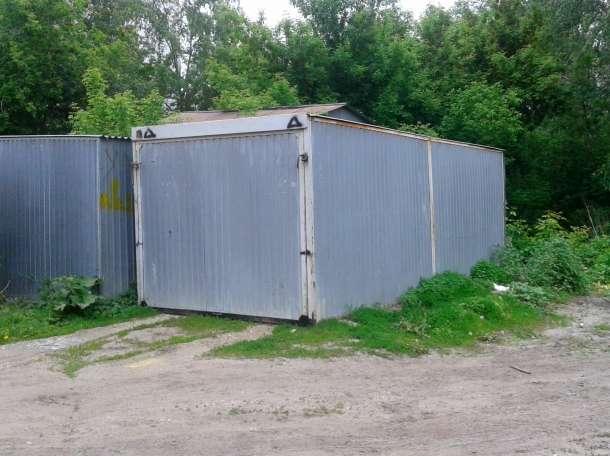 Односкатный гараж, фотография 1