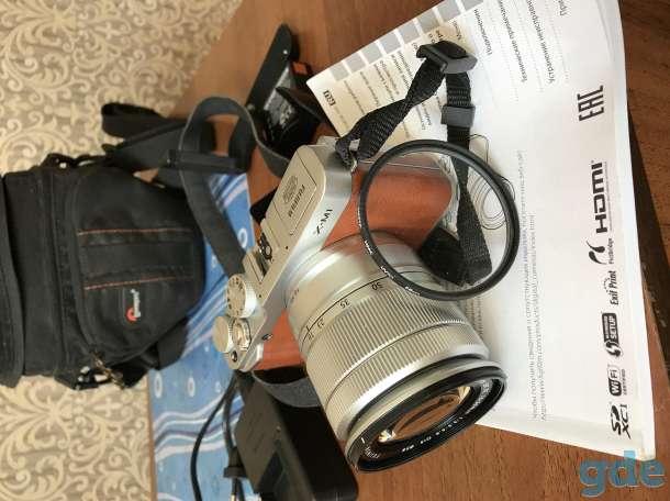 Фотоаппарат Fujifilm X-M1 kit 16-50, фотография 2