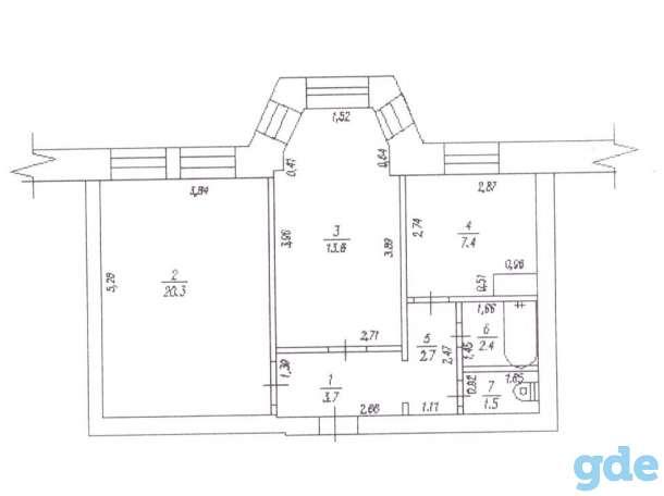 Продам двухкомнатную квартиру 52кв.м. в посёлке городского типа Шерегеш (Кемеровская область, Таштагольский район), фотография 7