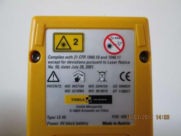 Дальномер лазерный Stabila LE 40, фотография 5