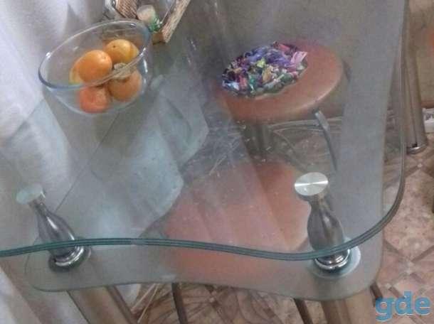 Продам стеклянный стол, фотография 3