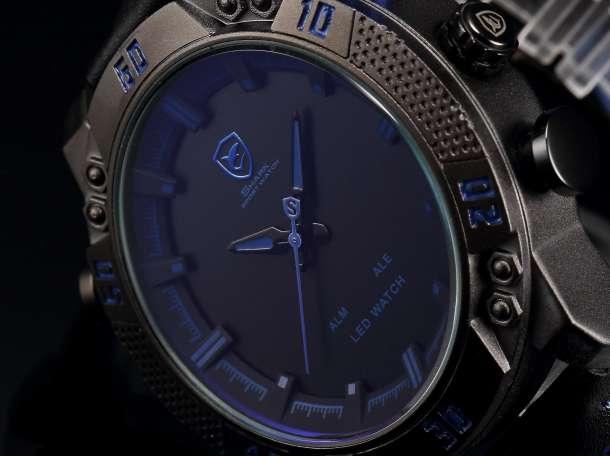Спортивные кварцевые часы Shark Sport Watch SH265 – стильные часы для прогрессивных людей!, фотография 2