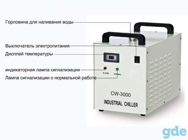 Акриловая рекламная гравировальная машина охлаждается промышленным охлаждающим баком CW-3000., фотография 3