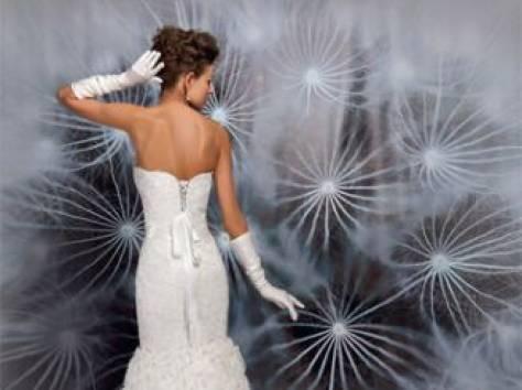 Дизайнерское свадебное платье, фотография 2