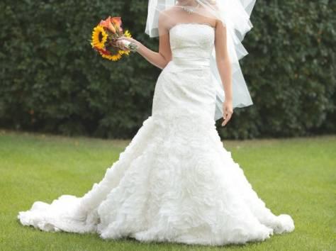 Дизайнерское свадебное платье, фотография 3