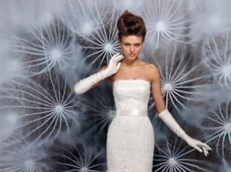 Дизайнерское свадебное платье, фотография 5