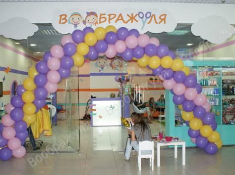В салон крупнейшей федеральной сети детских парикмахерских «Воображуля», в Мытищах - Торговый центр