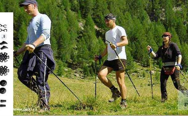 Набор скандинавских палок и Шагомер, фотография 2