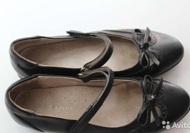 Продам туфли для девочки 35р-р, фотография 1