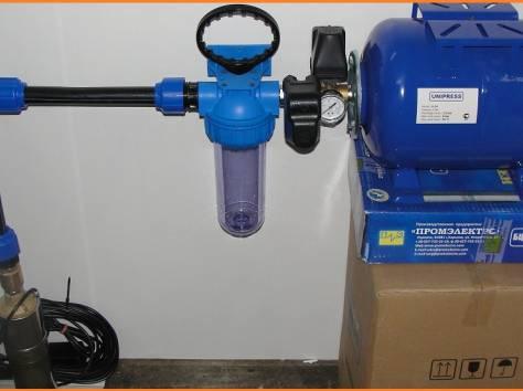 Подключение автоматических систем подачи воды из колодцев, скважин, фотография 1