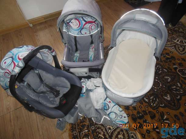 коляска три в одном, фотография 4