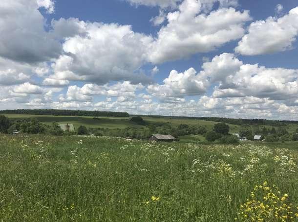 Участок 41 сотка в деревне Перекаль Захаровский район Рязанской области у реки Осётр, фотография 3
