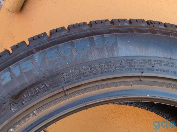 Шины зимние нешипованные Michelin X-ICE 215/55 R17, фотография 4