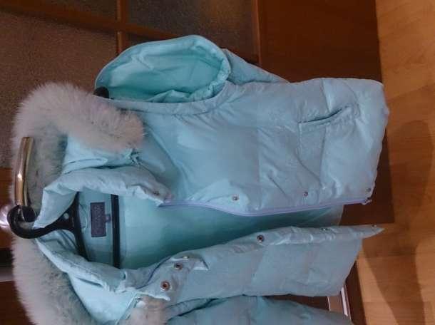 O'HARA Куртка зимняя, цвет морской волны, б/у.  , фотография 5