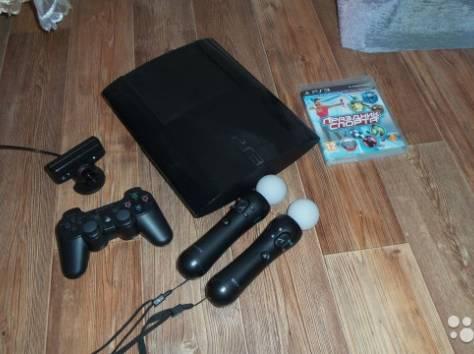 PS 3 SuperSlim 500gb бу, фотография 1