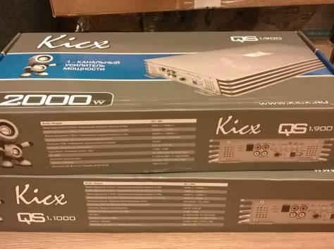 Сабвуферы, усилители, акустические системы и провода Kicx., фотография 3