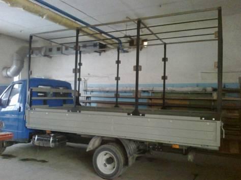 Тенты и каркасы на автомобили газ, тент каркас на газ, изготовление каркасов на грузовой автомобиль, фотография 4
