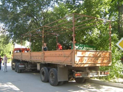 Тенты и каркасы на автомобили газ, тент каркас на газ, изготовление каркасов на грузовой автомобиль, фотография 6