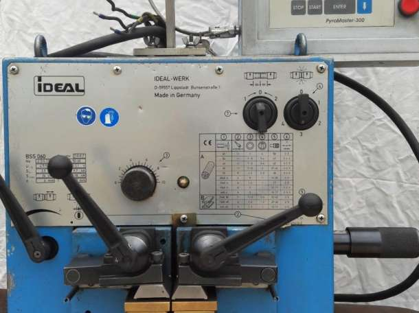 Сварочное оборудование для контактно-стыковой сварки  ленточных пил BSS-060, фотография 1