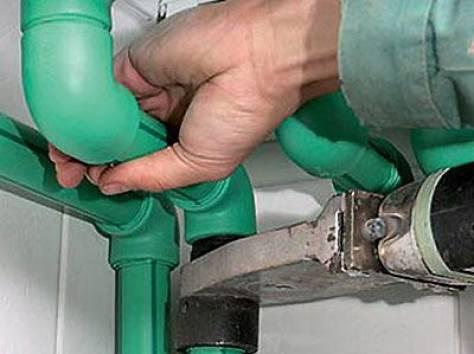 Ремонт пластиковых труб своими руками водопровод