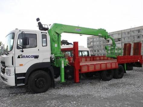 Эвакуатор с кму 7 тонн в наличии, фотография 1