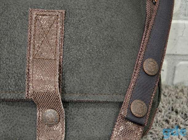 Мужская кожаная сумка, фотография 4