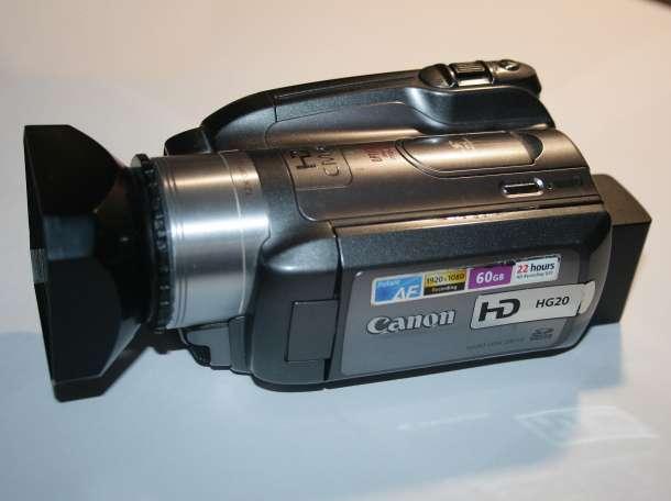 Видеокамера Canon HG20, фотография 3