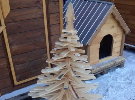 Елка деревянная, фотография 1