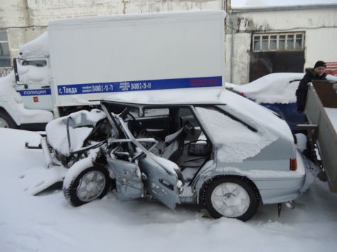 Продается ВАЗ 2114 2007г  авто после ДТП , фотография 1