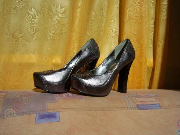 Туфли Vesconte серебристые р.35, фотография 1