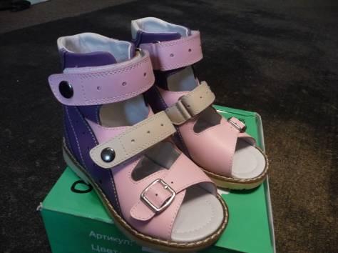 Лечебная ортопедическая обувь для девочки, фотография 1